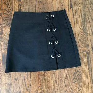 By the Way Tori Lace Up Skirt